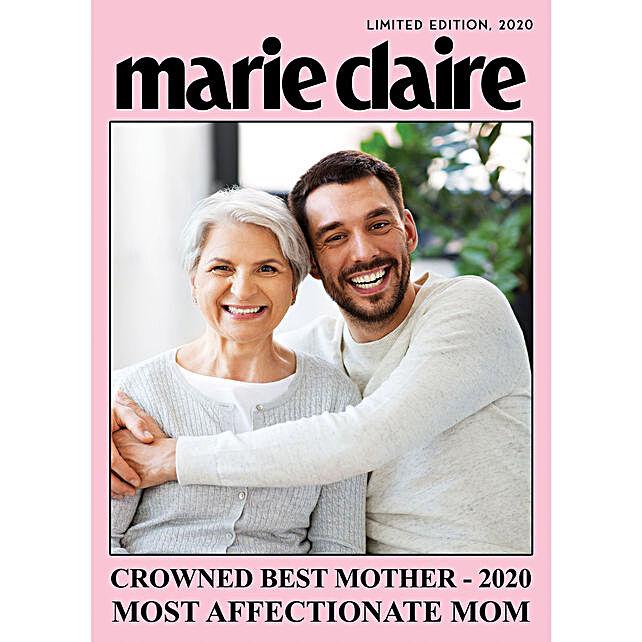 Affectionate Mom Personalised E Magazine Cover