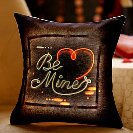 online message led cushion for vday