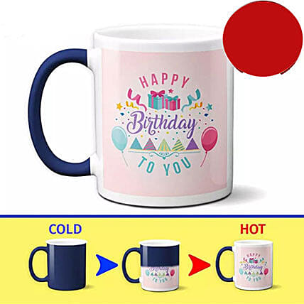 Birthday Special Color Changing Mug