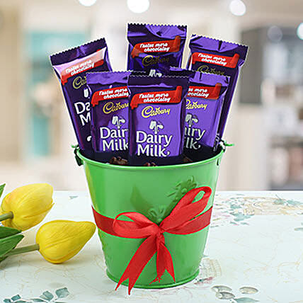 Cadburry Vase:Thank You Gifts to Philippines