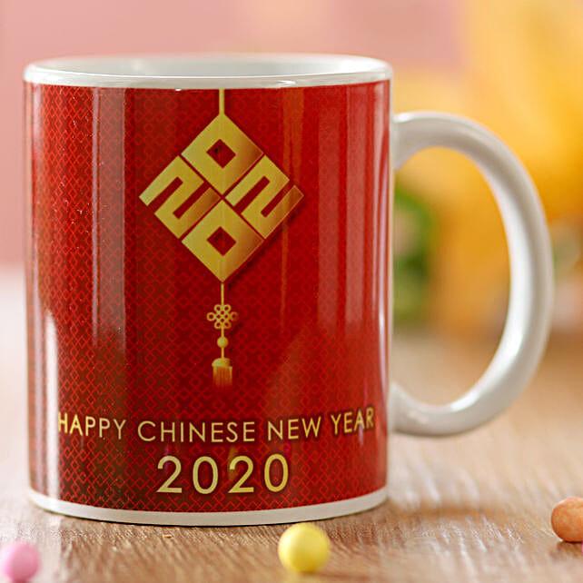 Chinese New Year Greetings Mug