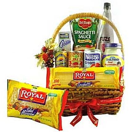 Delicious Christmas Gift Basket