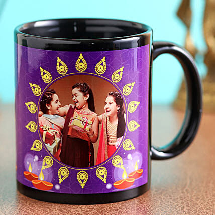 personalised mug for diwali online