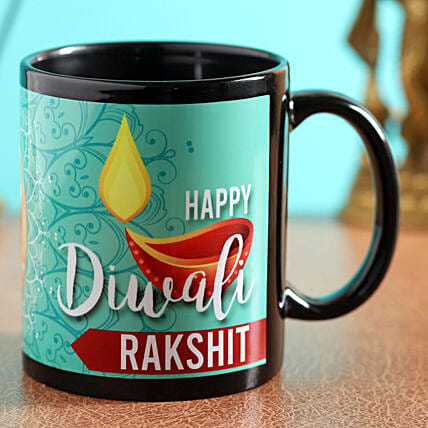 online personalised mug for diwali