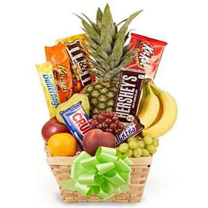 Easter Fruit And Candy:Philippines Gift Hamper Delivery