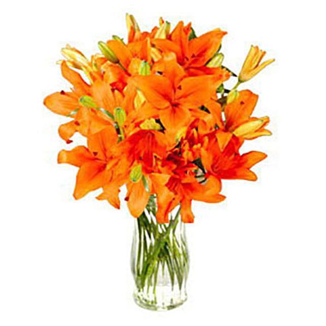 Fall In Orange:Lilies