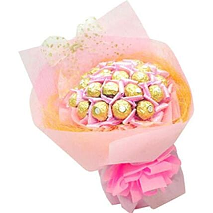Ferrero Rocher Pink Bunch:Valentines Day Chocolates to Philippines