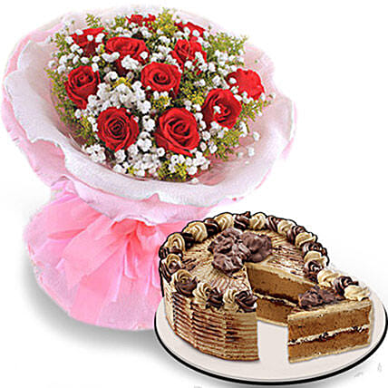 Flowers And Cake For Your Love