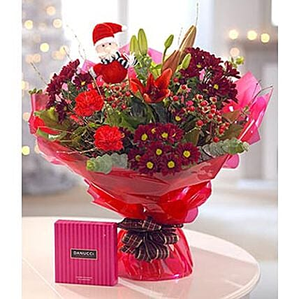 Gorgeous Christmas Floral Gift