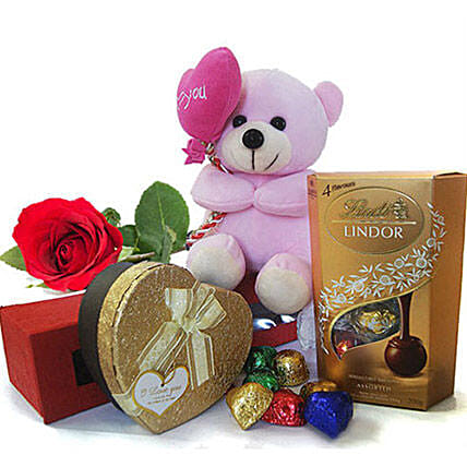 Gourmet Chocolate Gift Hamper:Send Soft Toys to Philippines