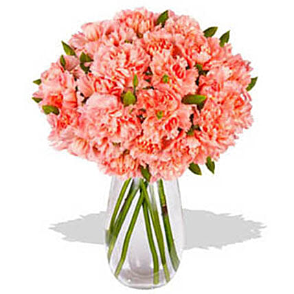 Orange Carnations:Carnations Flowers Delivery Philippines