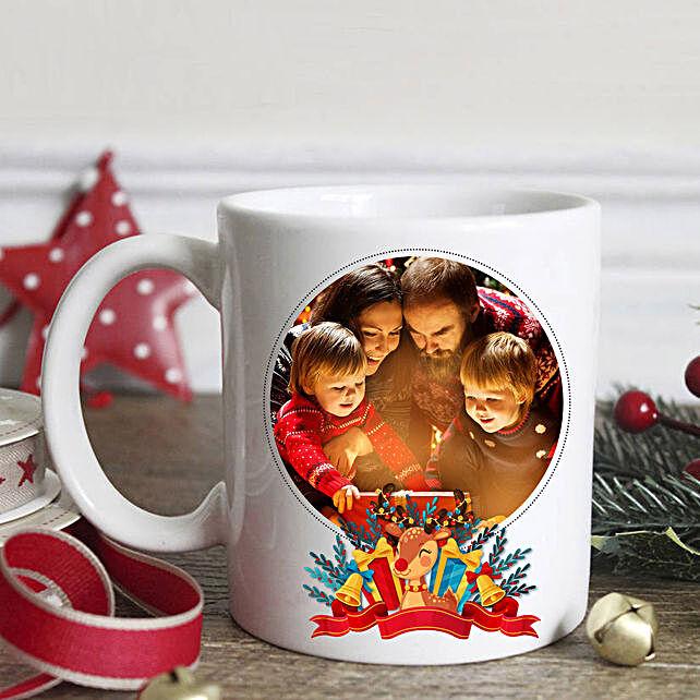 Personalised Joyful Holidays Mug:Send Christmas Gifts to Philippines