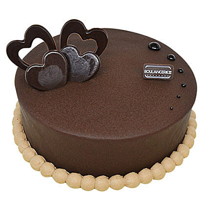 Rich Dark Chocolate Chiffon Cake:Gifts for Anniversary in Philippines