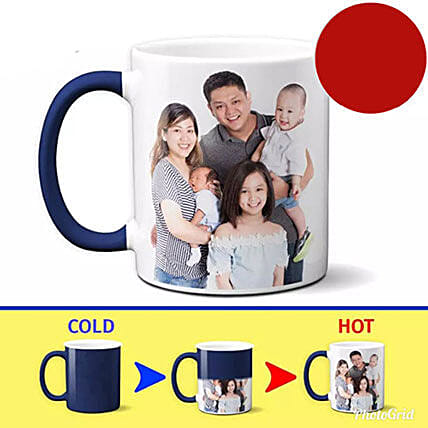 Unique Color Changing Personalized Mug