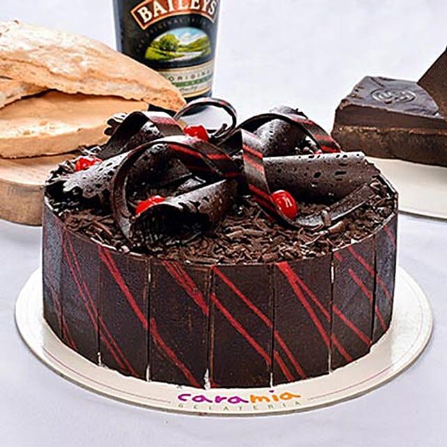 Delicious Choco Baileys Cake