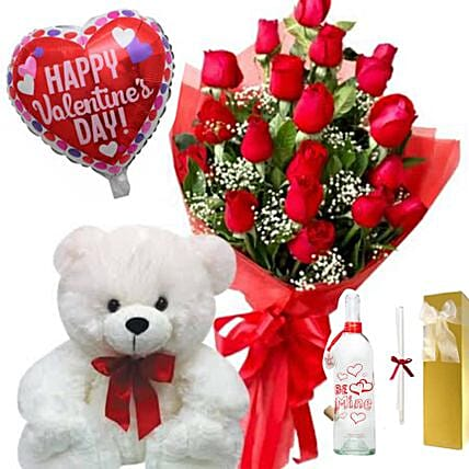 Valentines Greetings Gift Hamper