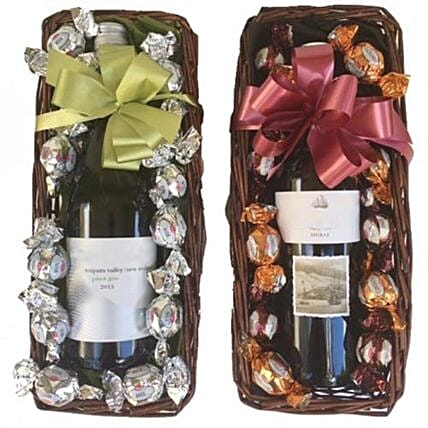 Wine And Choccies:Christmas Gift Hampers to Philippines