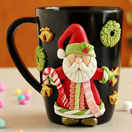 Gorgeous Xmas Special Santa Mug:Christmas Gift Delivery in Poland