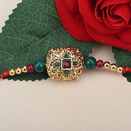 Traditional Antique Rakhi POR