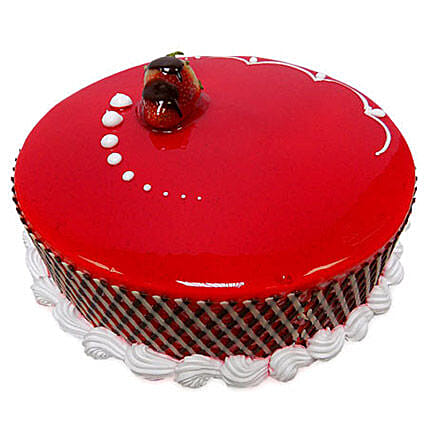 1Kg Strawberry Carnival Cake