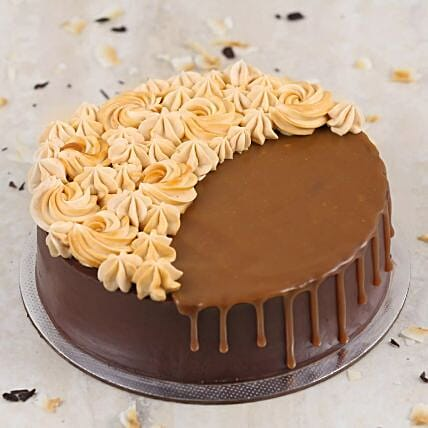 Chocolate Caramel Cake:Cake Delivery in Qatar