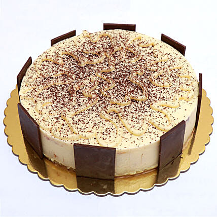 Delectable Super Tiramisu Cake:Send Anniversary Cakes to Qatar