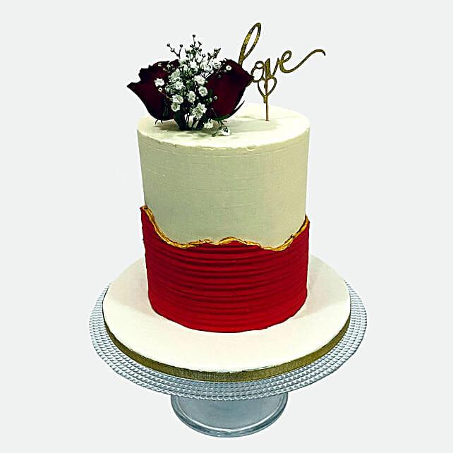 Delightful Love Cake