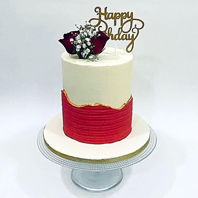 Designer Happy Birthday Cake