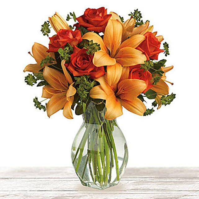 Flourishing Orange
