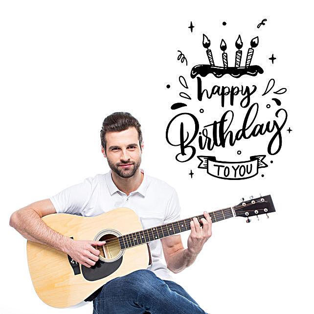 Happy Birthday Melodies:Guitarist Service in Qatar