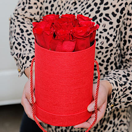 Majestic Red Roses Box