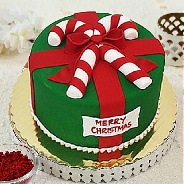 Merry Christmas Theme Cake