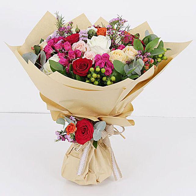 flower bouquet online:Newborn Baby Flowers to Qatar