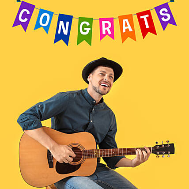Musical Congratulations:Guitarist Service in Qatar