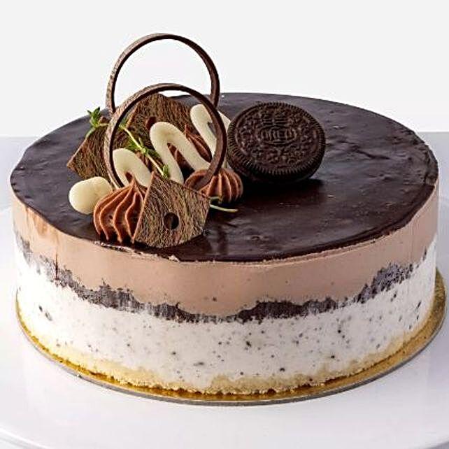 Oreo and Nutella Cake