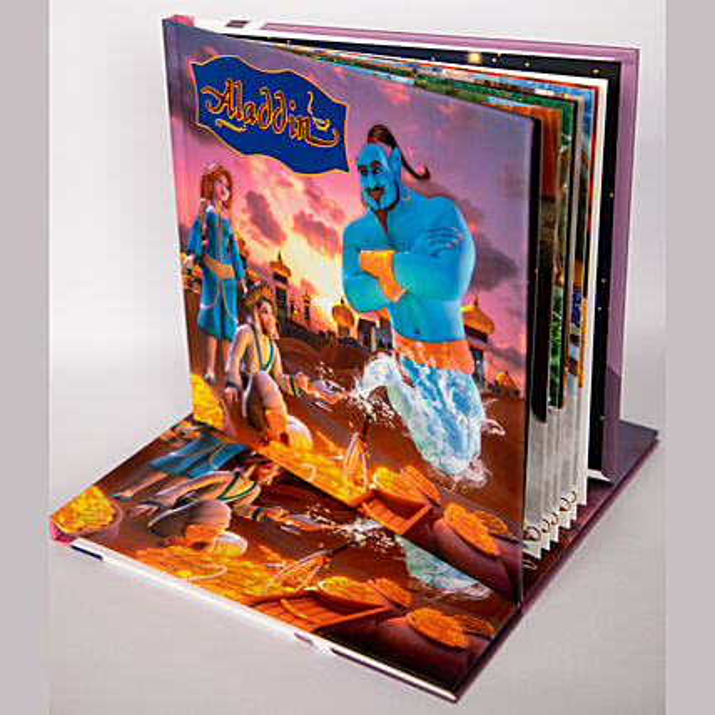 Online personalised cartoon eBooks for kid:Digital Gifts In Qatar