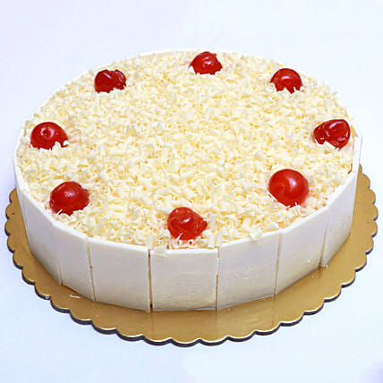 Mouthwatering Whiteforest Cake