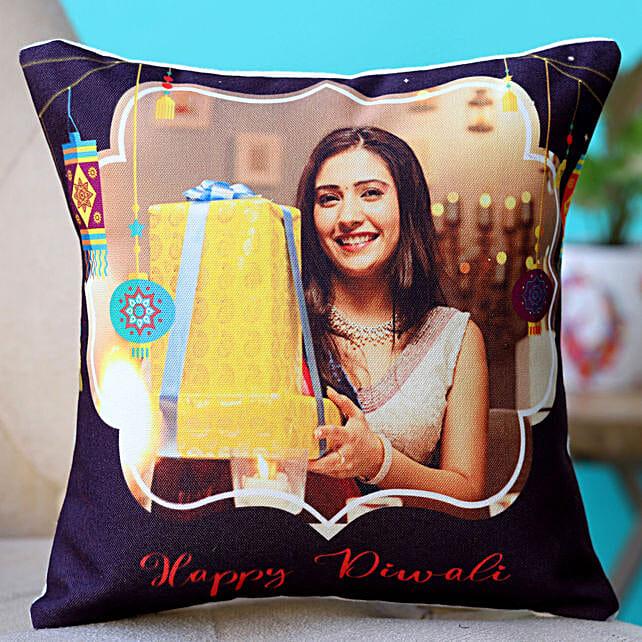 personalised cushion for diwali