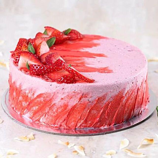 Strawberry Flavour Cake