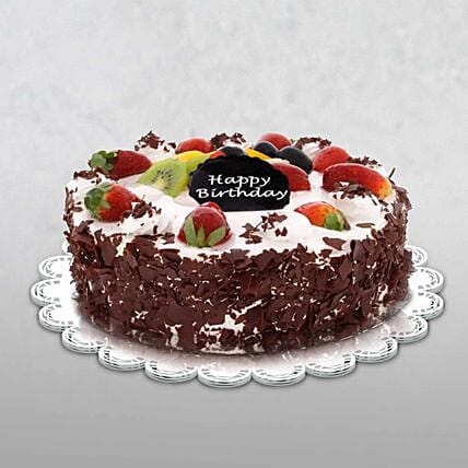 Birthday Special Black Forest Cake