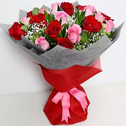 Pink & Red Luxurious Bouquet
