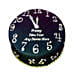 Happy New Year Countdown Fondant Cake 2kg Eggless