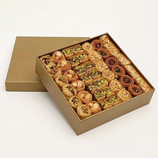 A Box of Luxury Baklava Mix