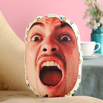 Personalised Angry Mushion For Him