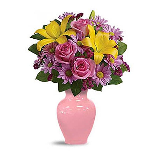 Spring Serenade Bouquet:Anniversary Flower Delivery in Kuwait