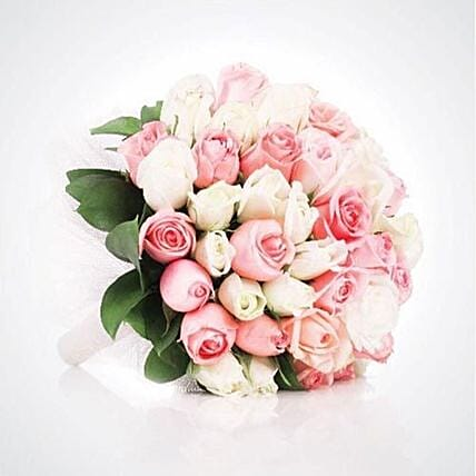 Beautiful White Roses Bouquet