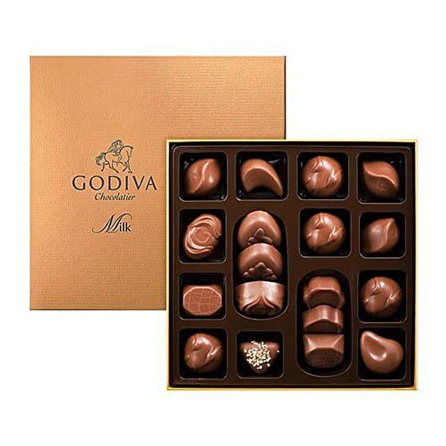 Godiva Milk Chocolates Box