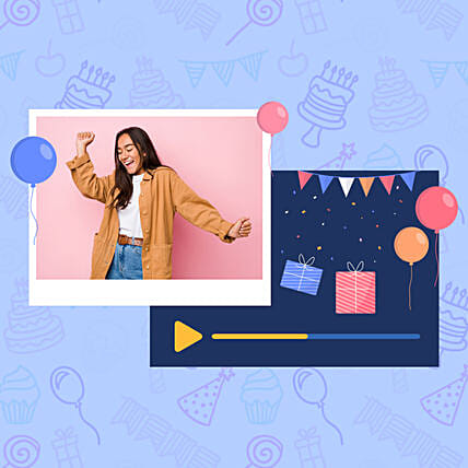 Birthday Special Personalised Video Wishes