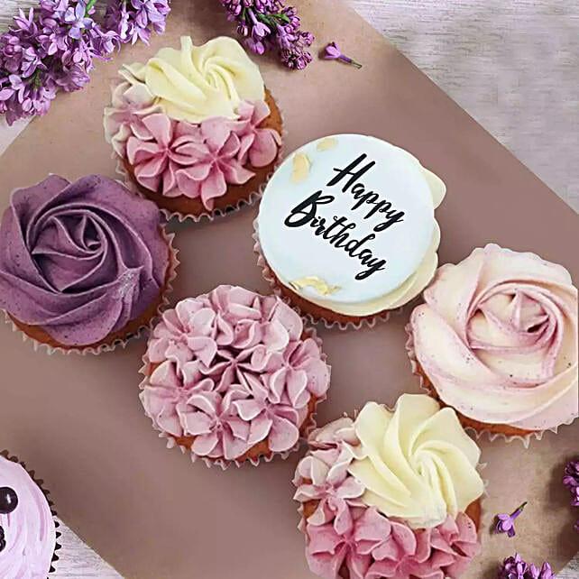 Yummy Cupcakes:Send Birthday Gifts to Saudi Arabia