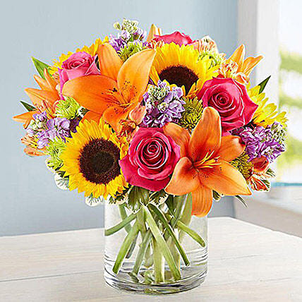 Vibrant Touch:Send Mixed Flowers to Saudi Arabia